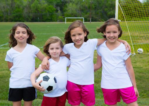 サッカー少女